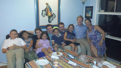 Rosh Hashanah at Candice's House