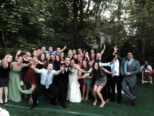 Weg and Freiman Wedding with campers